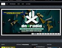 DNB RADIO BRAZIL Identidade Visual Completa