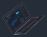 Binarium Crypto. Web design.
