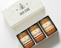 Maya Serbie honey packaging