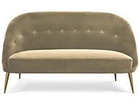 NESSA Sofa | By KOKET