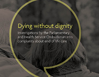 Dying without dignity report and infographics
