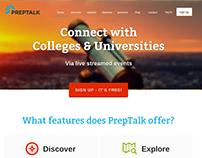 PrepTalk Landing Page