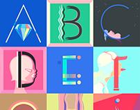 36 days of type: Alphabets