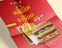 Cardápio Galego Burger