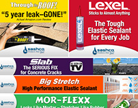 Sashco Inc. Home Improvement Web Banners