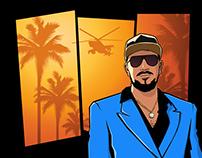 GTA Style Portrait