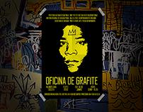 Oficina de grafite - EMEF Pref. J. Carlos de Figueiredo