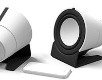 SideStash Portable Bluetooth Speaker