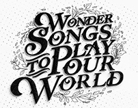Wonder Songs To Play Our World