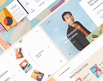 Selected Web and UI/UX Projects - 2019