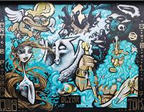 Mythos Wall for Dolly Noire - Milano