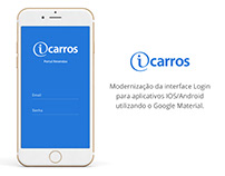 iCarros - Login app