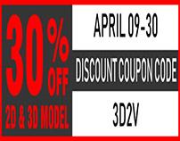 3d2v - Discount