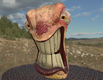 Angry Worm (Substance Painter)