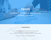SWAVE Landing Page