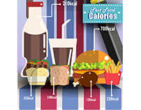 Fast Food - Infographic Design