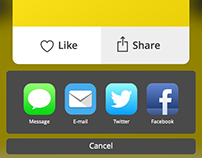 Dribbble Mobile Interface Design