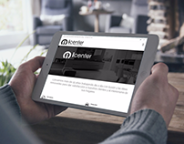 Sitio web de ICenter de España.