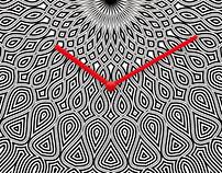 Mandala B/N o'Clock