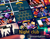 Night clup presentation