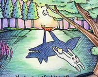 Children's Book Illustration Spread - Concept
