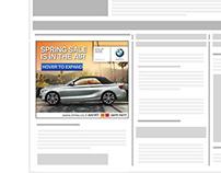BMW Spring Sale Israel