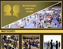 Winter Business Expo Homepage Design