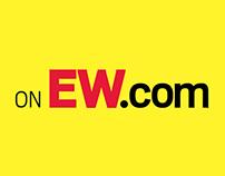 EW.com Rebranding Ad Campaign