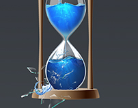 "Плакат на тему:""Берегите воду"""