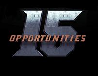 Gators 15 Opportunities