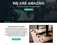 RomNa Multipurpose Responsive Bootstrap Flat Template