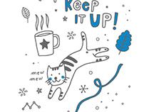 Illustrations for children's textbook