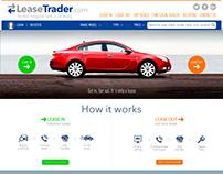 Ui/Ux designer - Mockup: Lease Trader