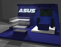 Asus Exhibit Booth Design