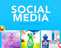 Produtos Proeza - Social Media
