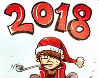Happy New Year 🎈2018🎈🎉