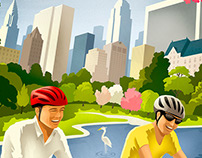 RALEIGH BICYCLE POSTERS