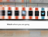 Apple WATCH poster proposals / Singapore
