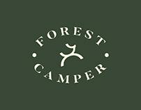Forest Camper Logo Design