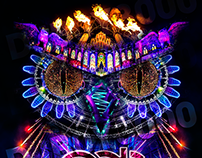 Electric Daisy Owl