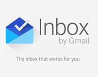 INBOX by GMAIL Infographic