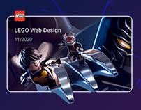 LEGO WEB DESIGN Mobile First | Интернет-магзин Lego