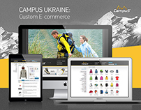 CAMPUS Ukraine — Custom E-commerce