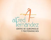 Diseño de logo Alfred Fernández