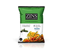 ZINS & VIGS. New light snacks.