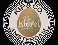 Logo for an Eierei farm in Amsterdam