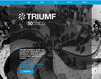 TRIUMF50 Website