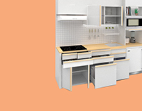Compact Kitchen Set - Furniture Assignment