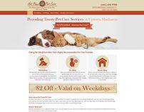 Pet Care - Web Design