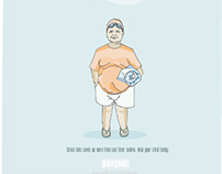 Childhood Obesity Awareness // Print Campaign